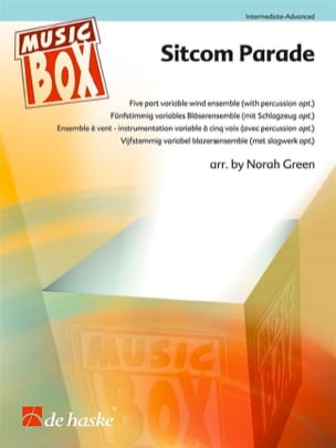 Sitcom Parade - Music Box Partition ENSEMBLES - laflutedepan