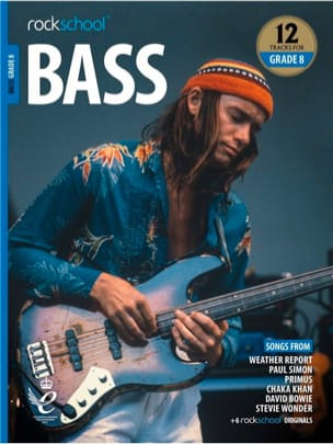 Rockschool Bass Grade 8 2018+ - Partition - laflutedepan.com