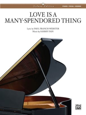 Fain Sammy / Webster Paul Francis - Love Is a Many-Splendored Thing - Format - Partition - di-arezzo.fr