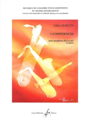 Gilles Martin - 5 Confidences - Sheet Music - di-arezzo.co.uk