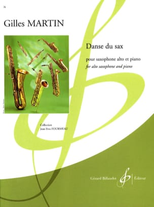 Gilles Martin - Sax dance - Sheet Music - di-arezzo.co.uk