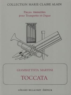 Giambattista Martini - Toccata - Partition - di-arezzo.fr