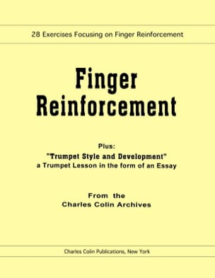 Charles Colin - Finger Reinforcement - Sheet Music - di-arezzo.co.uk