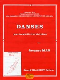 Jacques Mas - Danses - Partition - di-arezzo.fr