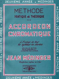Jean Médinger - Practical and theoretical method - 2nd year - Sheet Music - di-arezzo.co.uk