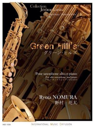 Green Hill's - Ryota Nomura - Partition - Saxophone - laflutedepan.com