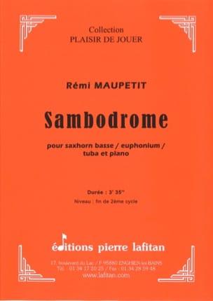 Sambodrome - Rémi Maupetit - Partition - Tuba - laflutedepan.com
