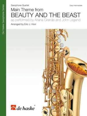 DISNEY - Beauty and the Beast - Saxophone Quartet - Sheet Music - di-arezzo.co.uk