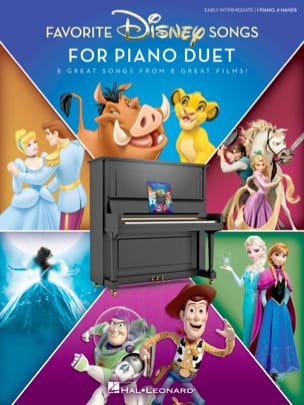 Favorite Disney Songs for Piano Duet Walt Disney laflutedepan