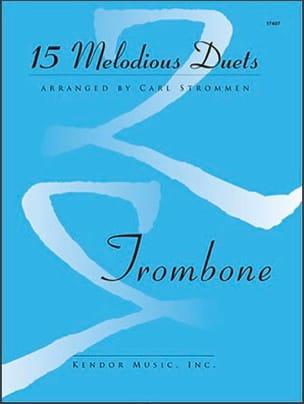 15 Melodious Duets Partition Trombone - laflutedepan