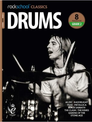 Rockschool Classics Drums - Grade 2 2018+ - laflutedepan.com