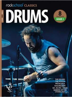 - Rockschool Classics Drums - Grade 3 2018 - Sheet Music - di-arezzo.co.uk