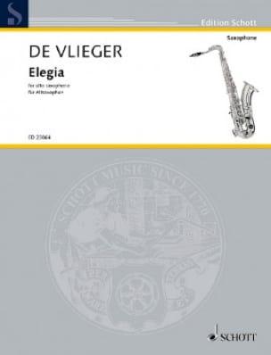 Henk De Vlieger - Elegia - Partitura - di-arezzo.es