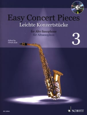 Easy Concert Pieces - Volume 3 Partition Saxophone - laflutedepan