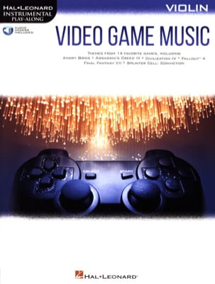 Musique de Jeux Vidéo - Video Game Music for Violin - Sheet Music - di-arezzo.co.uk