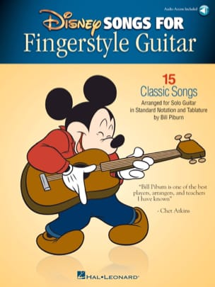 DISNEY - Disney Songs for Fingerstyle Guitar - Partitura - di-arezzo.it