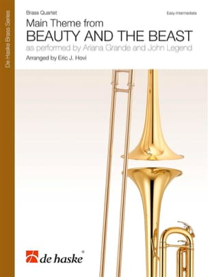 DISNEY - Beauty and the Beast - Brass Quartet - Sheet Music - di-arezzo.co.uk