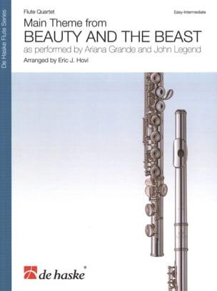 La Belle et la Bête - Quatuor de Flûtes DISNEY Partition laflutedepan
