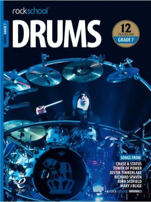 Rockschool Drums Grade 7 2018+ - Partition - laflutedepan.com
