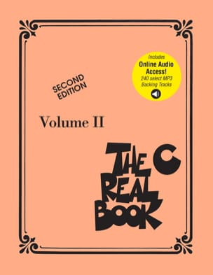 The Real Book Volume 2 - Second edition, avec 240 MP3 - C Instruments - laflutedepan.com