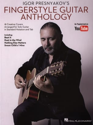 Igor Presnyakov's Fingerstyle Guitar Anthology laflutedepan