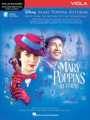 DISNEY - The Return of Mary Poppins - Movie Music - Sheet Music - di-arezzo.com