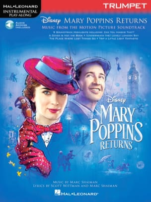DISNEY - Le Retour de Mary Poppins - Musique du Film - Partition - di-arezzo.fr