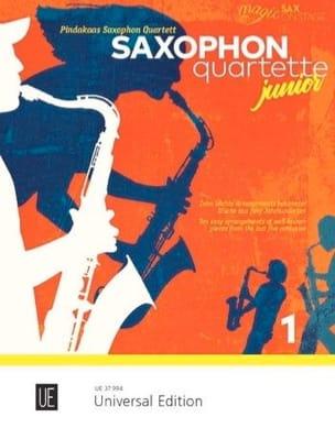 Saxophone Quartets Junior - Volume 1 Partition laflutedepan