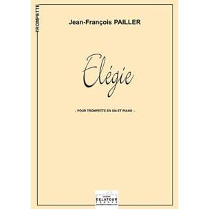 Elégie - Jean-François Pailler - Partition - laflutedepan.com