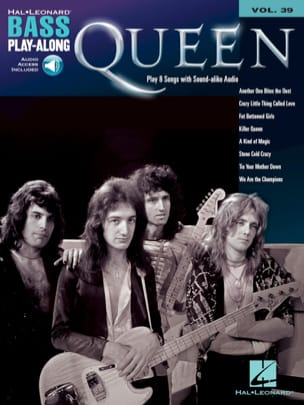Bass Play-Along Volume 39 - Queen - Queen - laflutedepan.com