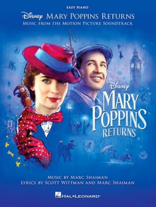 DISNEY - The Return of Mary Poppins - Movie Music - Simpified Piano - Sheet Music - di-arezzo.co.uk