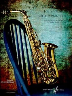 Michel Mériot - Romantic Waltz - Sheet Music - di-arezzo.com