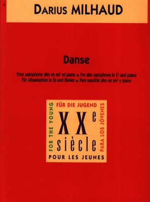 Darius Milhaud - Dance - Sheet Music - di-arezzo.co.uk