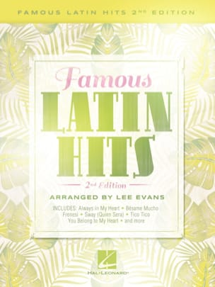 - Famous Latin Hits - 2nd Edition - Sheet Music - di-arezzo.co.uk