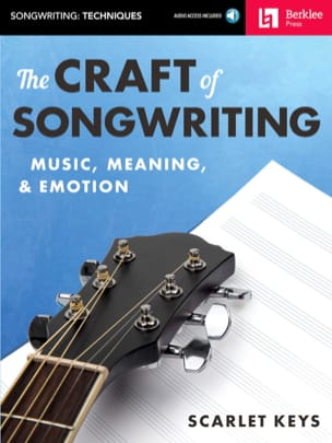 The Craft of Songwriting - Scarlet Keys - Livre - laflutedepan.com