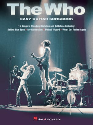 The Who - Easy Guitar Songbook - The Who - laflutedepan.com