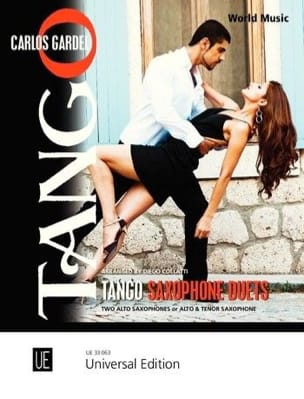 Tango Saxophone Duets Carlos Gardel Partition Saxophone - laflutedepan