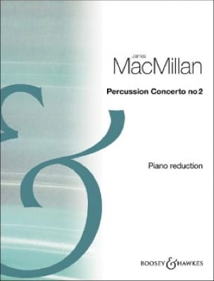 James MacMillan - Percussion Concerto No.2 - Partition - di-arezzo.fr