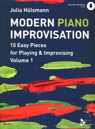 Julia Hülsmann - Modern Piano Improvisation - Volume 1 - Sheet Music - di-arezzo.co.uk