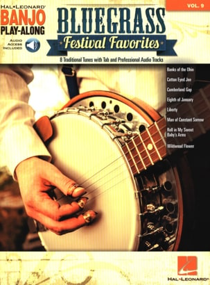 Banjo Play-Along Volume 9 - Bluegrass Festival Favorites laflutedepan