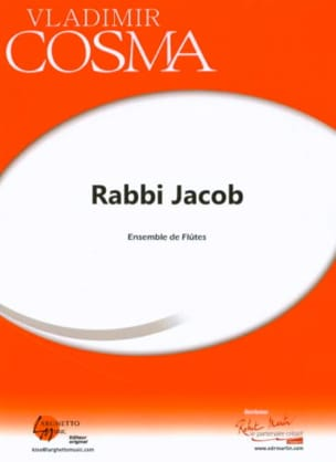Rabbi Jacob Vladimir Cosma Partition Flûte traversière - laflutedepan