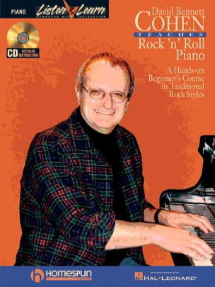 David Bennet Cohen Teaches Rock 'n' Roll Piano - laflutedepan.com