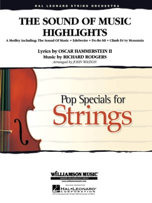 Richard Rodgers & Oscar Hammerstein - The Sound of Music Highlights - Pop specials for strings - Sheet Music - di-arezzo.com