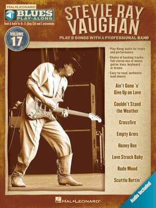 Blues Play-Along Volume 17 - Stevie Ray Vaughan - laflutedepan.com