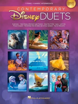 Contemporary Disney Duets - 2nd Edition DISNEY Partition laflutedepan