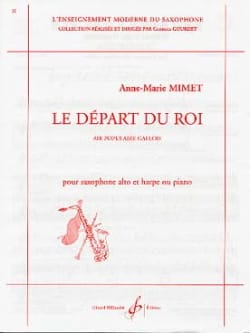 Anne Marie Mimet - The King's departure - Sheet Music - di-arezzo.co.uk