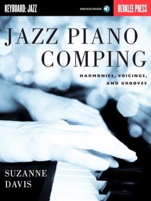 Jazz Piano Comping - Suzanne Davis - Partition - laflutedepan.com