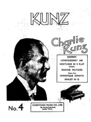 Play The Kunz Way - Book 4 Charlie Kunz Partition Piano - laflutedepan