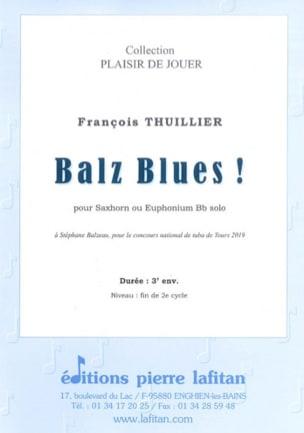 Balz Blues ! - François Thuillier - Partition - laflutedepan.com