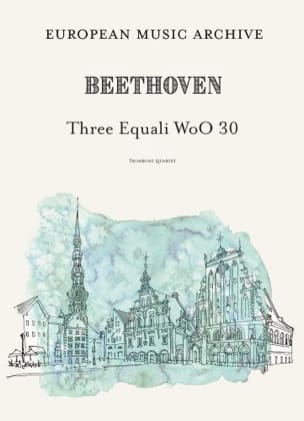 Ludwig van Beethoven - 3 Equali, WoO 30 - Partition - di-arezzo.fr